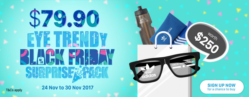 Eye Trendy Black Friday Surprise Pack | Adidas by Italia Independent