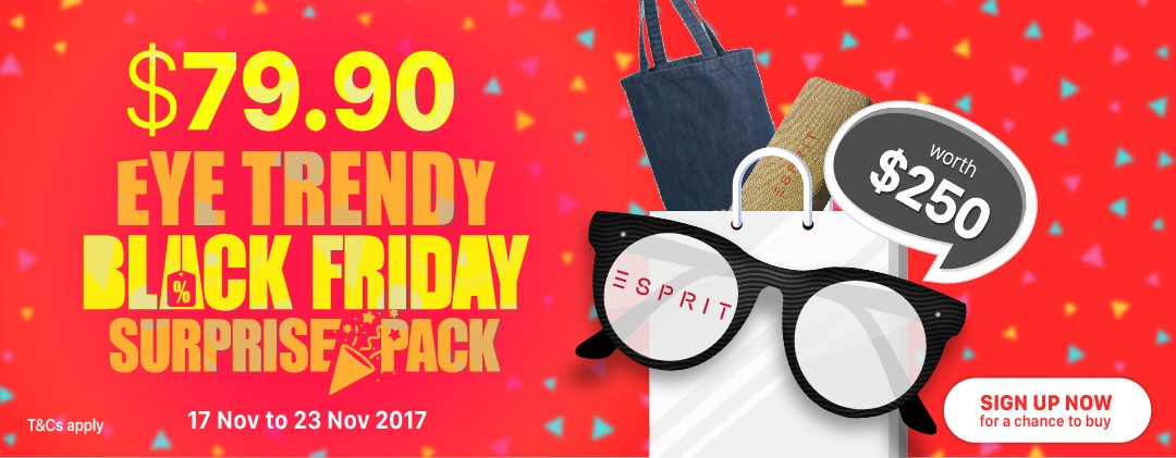 Eye Trendy Black Friday Surprise Pack ESPRIT